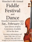 Hinecker's 4th Annual Fiddle Festival and Dance