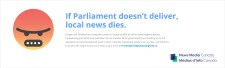 If Parliament doesn't deliver, local news dies.