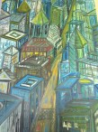 Cityscape by Katherine Haine