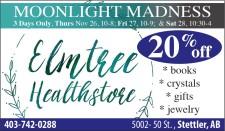 Elmtree Healthstore Moonlight Madness