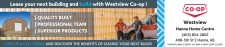 Lease your next building and build with Westview Co-op!