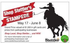 Shop Stettler's STAMPEDE