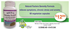 TURNER DRUG STORE Vitamin Centre