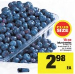 Blueberries product of Mexico or U.S.A.