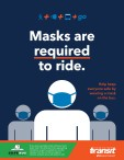 Masks are required to ride.