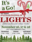 23rd Annual Stettler Festival of LIGHTS