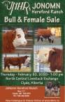 JONOMN Hereford Ranch Bull & Female Sale