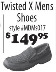 Twisted X Mens Shoes