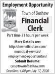 Financial Clerk Employment Opportunity