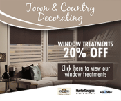 Town & Country Decorating Window Treatments