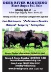 DEER RIVER RANCHING Black Angus Bull Sale