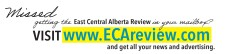 Missed getting the East Central Alberta Review in your mailbox?